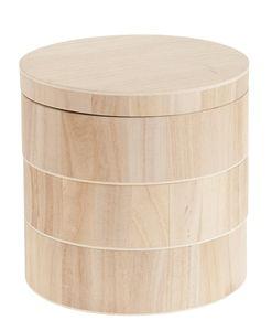 Box di legno con 3 ripiani, 1 pezzo