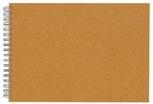 Scrapbooking album, 30x21,5cm, marrone, 1 pezzo