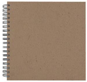 Paper-Art Album, naturbraun (30 x 30 cm)