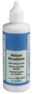 Collante per mosaico, bianco, 125 ml