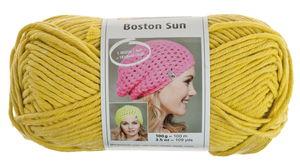 Fil à tricoter Boston Sun , Pour c..., anis