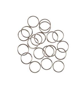 Anillas de acero inoxidable, 20 ud. (ø 7 mm)