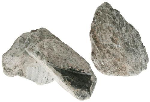 specksteinbruchstücke, 20 kg schwarzdunkelgrün  opitec ~ Spülbecken Stein