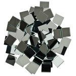 Mozaïek spiegelstenen, 200 g (3 x 20 x 20 mm)