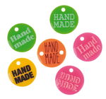 Plastic button - Hand-made, various n...,