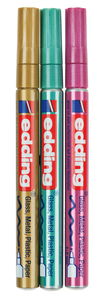 edding Metallic Marker, 3er Set