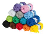 Wool - set, Contents: 6 spool each 50...,