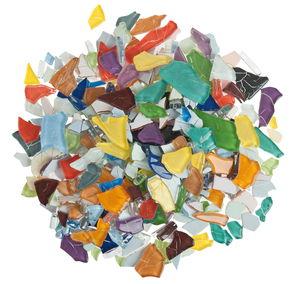 Mosaico di vetro Crash, 500g mix variopinto