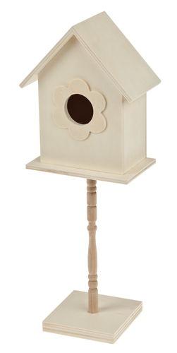 vogelhaus holz auf st nder 105 x 7 5 x 30 5 cm opitec. Black Bedroom Furniture Sets. Home Design Ideas