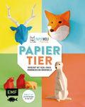 Duits boek: 'Paperwolf - Papiertiere'