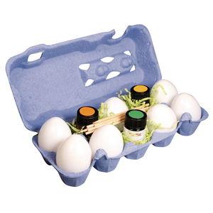 Marble Paint Set - cartone da uova, 18 parti