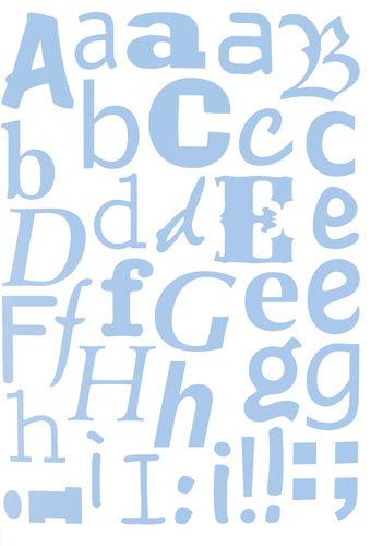 schablonen mask stencil 3 st ck alphabet din a3 opitec. Black Bedroom Furniture Sets. Home Design Ideas