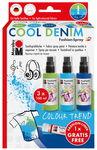 Fashion-Spray Marabu, Cool Denim 3 x 100 ml