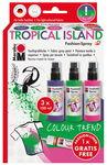 Fashion-Spray Marabu, Tropical Island (3 x 100 ml)
