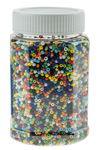 Perline di vetro, variopinto opaco, 500g