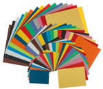 Set di carte, 195 fogli, A3/A4/A5/A6, 15 colori