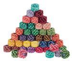 Haakgaren - gemeleerd, 21 kleuren a 35m, 42 stuks
