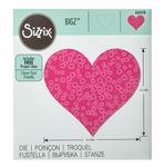 Sizzix Bigz Die Schablone - Heart #3