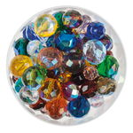 Cut Glass Bead Mix