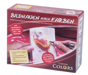 CarvingColors® scolpire seguendo colori gufo