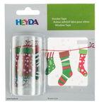 Adhesivos para ventana - Calcetines navideños