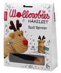 Set de crochet Wollowbies  Rudi le renne...
