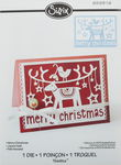 Sizzix® Thinlits[TM] Die - Merry Christmas...
