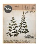 ..Sizzix Thinlits Die Set 2pk - Woodlands
