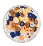 Gummischeiben Mix, 100er-Set Artisan (6 mm)