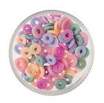 Gummischeiben Mix, 100er-Set sorbet  (6 mm)