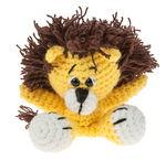 Crochet set Mini - Lion , Contents: 1 c...,