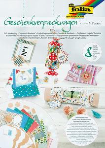 Geschenkschachteln Kissen & Bonbons 8 Verpackungen