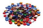 Glas-Nuggets rund, 1000 g bunt (15-20 mm)