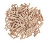 Clavijas de madera OPITEC, (ø 6 x 30 mm), 200 ud.