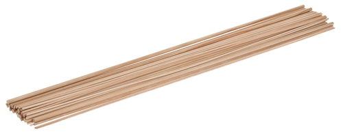Lote econ mico de varillas redondas de madera opitec - Varillas de madera ...