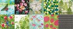 Lote de servilletas - Flores, 20 ud