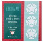 Kirigami boekje 'Kerstmagie' (20x20cm) 26 vellen