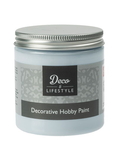 Peinture crayeuse deco lifestyle bleu clair opitec - Peinture bleu clair ...