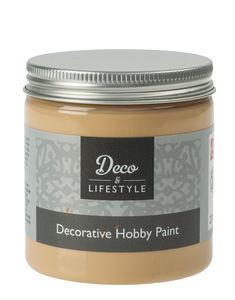 Hobbyfarbe, chalk 230 ml flaxen yellow