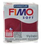 Fimo soft boetseerklei (57 g) merlot