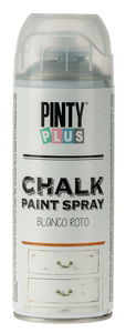 Pintura en spray PintyPlus® Chalk Finish, blanco