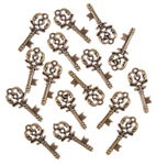 Kunststof strooidelen 'Sleutels', 15 stuks