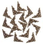 Kunststof strooidelen 'Hoek-elementen', 15 stuks