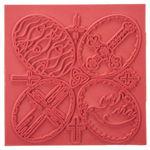 Plancha para relieves - Religión (90 x 90 mm)