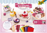 Kit creativo de fieltro - Pastelería, 20 piezas