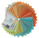 Set de feuilles pour origami - Printemps,