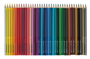 FABER-CASTELL Colour GRIP matite colorate 36 p