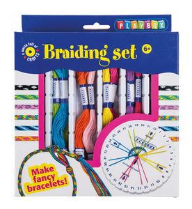 Set creativo - Intrecciare braccialetti,