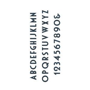 Sizzix® Bigz[TM] Dir Set Alphabet & Number