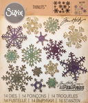 Sizzix® Thinlits[TM] Die Set 14pk - Snowflakes